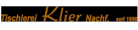 Tischlerei Klier